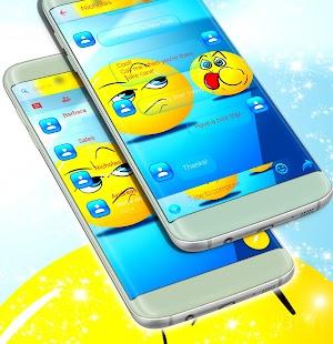 Emoji sms - náhled