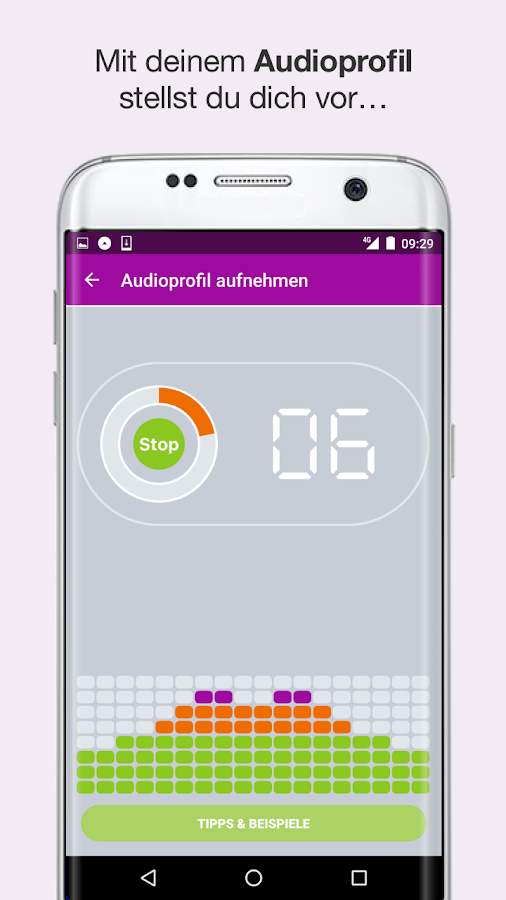 whispar – Screenshot