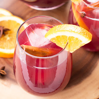 Big Batch Holiday Sangria.
