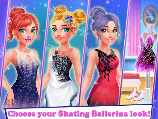 Ice Skating Ballerina: Dress up & Makeup Girl Game 1.0 screenshots 11
