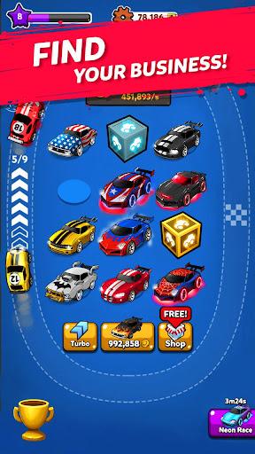 Merge Battle Car: Best Idle Clicker Tycoon game filehippodl screenshot 3