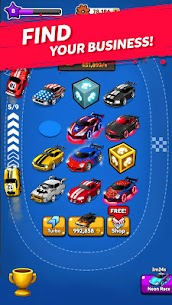 MERGE BATTLE CAR MOD APK BEST IDLE CLICKER TYCOON GAME DOWNLOAD FREE 3