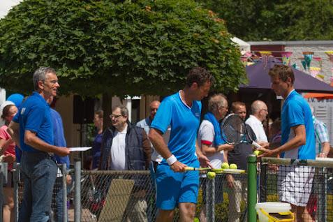 Tennis Clinic Haarhuis & Eltingh