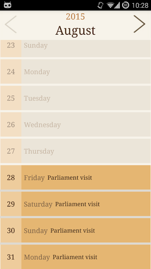 Parliament- screenshot