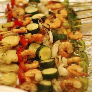 Shrimp Kebab.