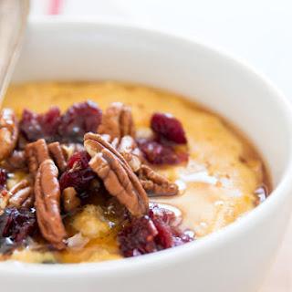 Cranberry Pumpkin Oatmeal