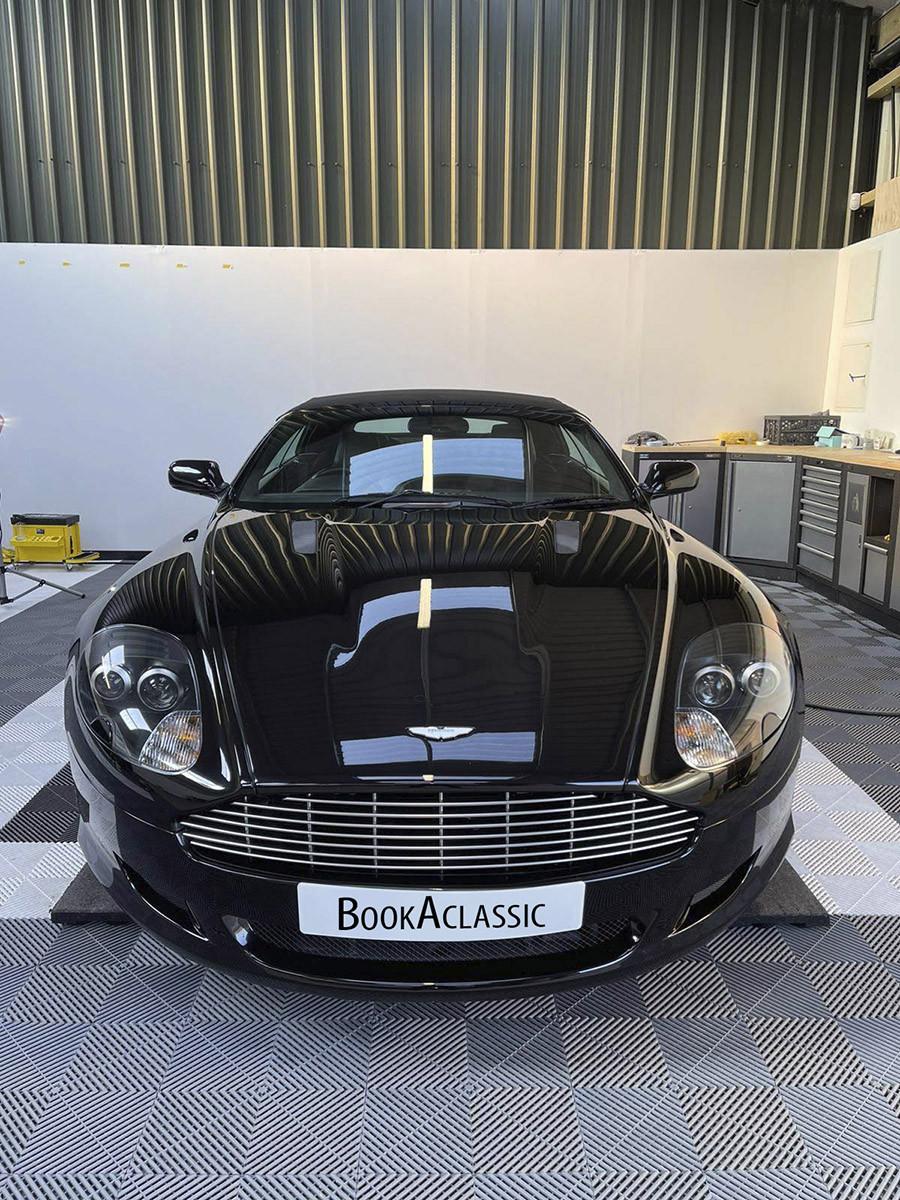 Aston Martin Db9 Volante Hire Liverpool