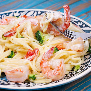 Shrimp Pasta – A Romantic Dinner Idea.