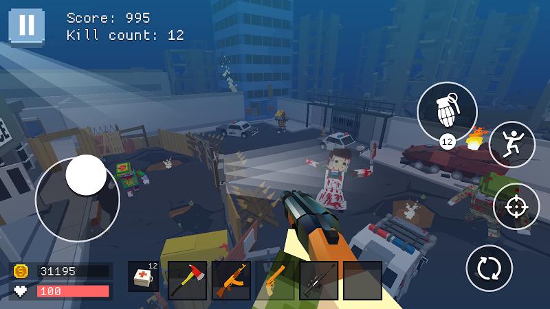 Pixel Combat: World of Guns Screenshot 10