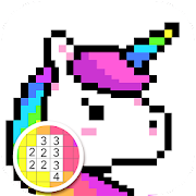 Pixel Coloring Book - Color by Number, Pixel Art