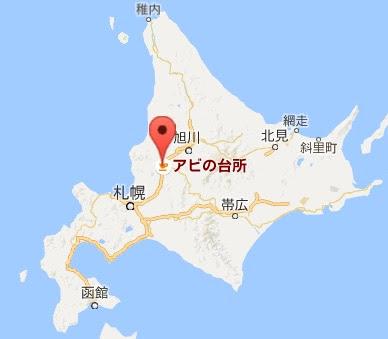地図:アビの台所