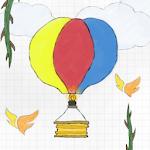Flappy Happy Air Balloon Icon