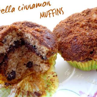 Nutella And Cinnamon Muffins.