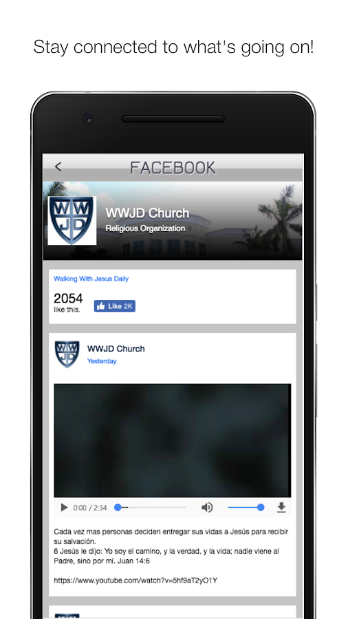 WWJD Church- screenshot
