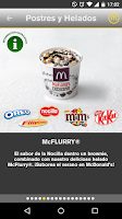 Screenshot of McDonald's España