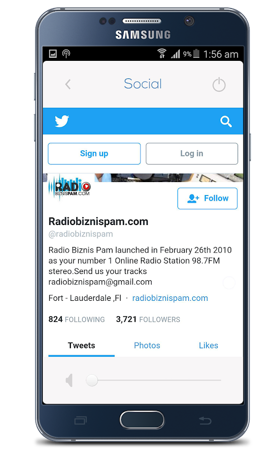 Radio Biznis Pam- screenshot