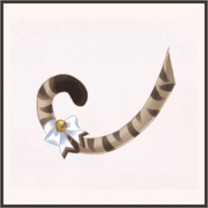 虎ネコしっぽ