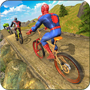 Game Superhero BMX Bicycle racing hill climb offroad APK for Windows Phone
