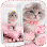 Pink Cute Kitty Cat Theme Apps (APK) gratis downloade til Android/PC/Windows