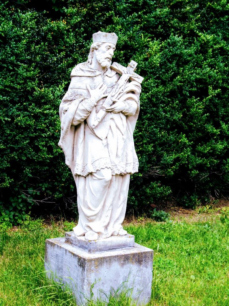 Bozsok - Nepomuki-Szent János-szobor