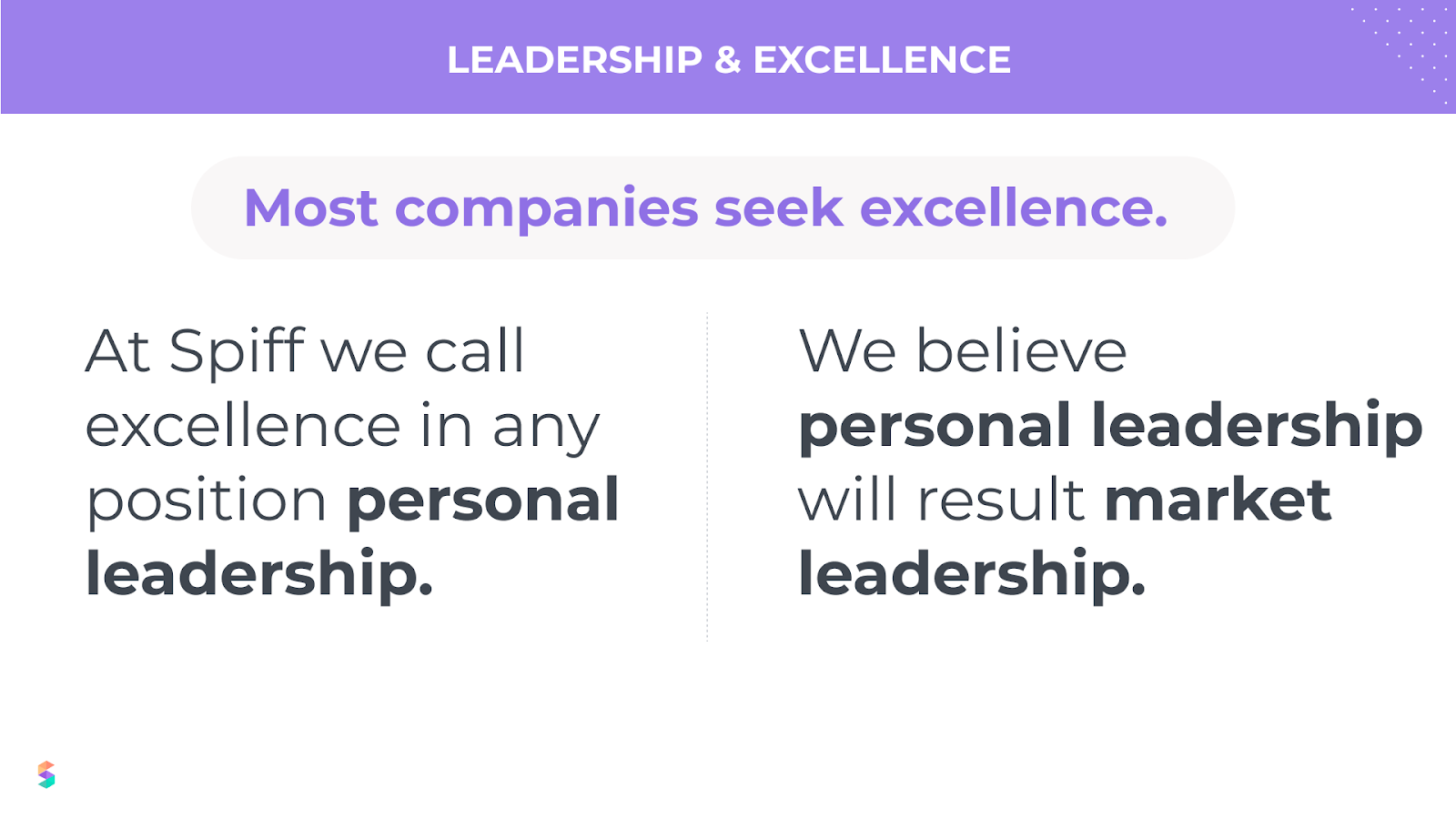 leadership and excellence