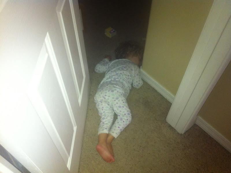 Photo: baby down!!!