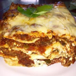 Nor's Meaty Deep Dish Lasagna