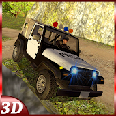 Offroad 4x4 Police Jeep Drive
