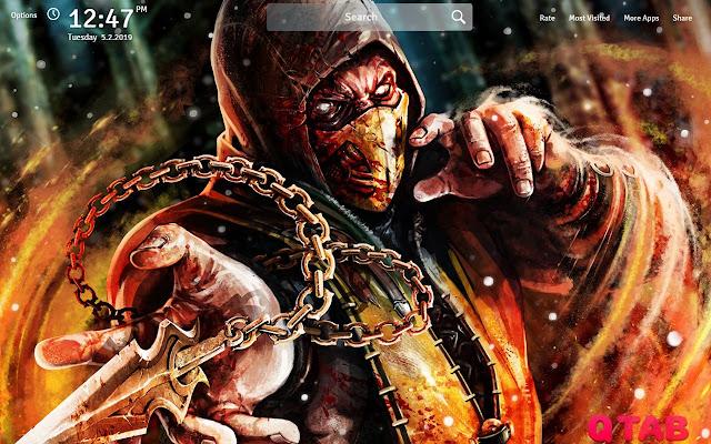 Mortal Kombat X Wallpapers HD New Tab