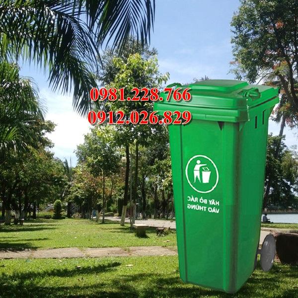 Có nên sử dụng thùng rác nhựa HDPE không