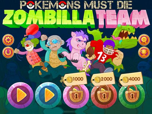 ZombillaTeam Pokemons Must Die Apk Download 6