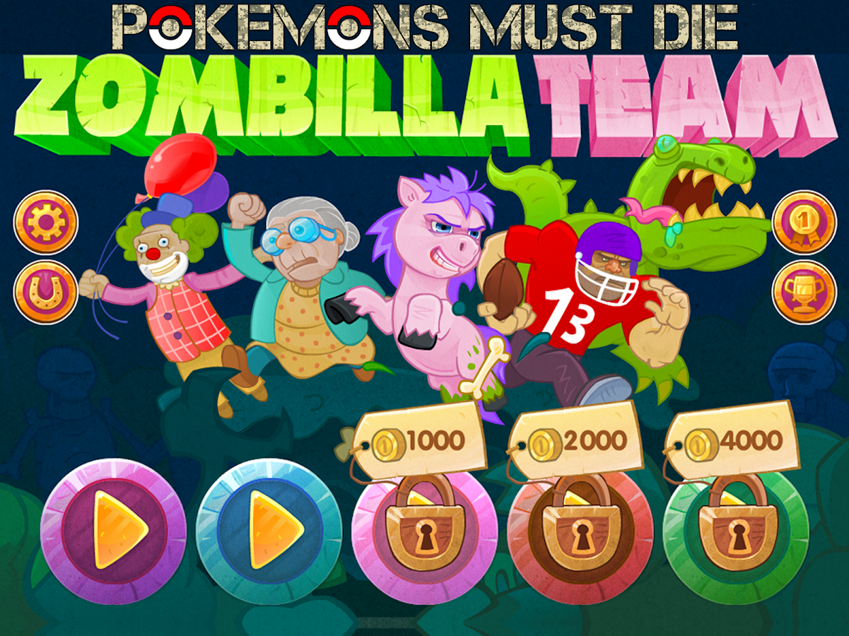 ZombillaTeam Pokemons Must Die- screenshot