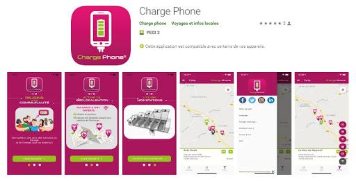 visuel appli charge phone bornes de recharge smartphones