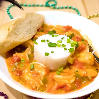 Spicy New Orleans Shrimp Creole.