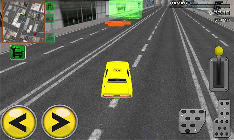 android Modern taxi racing 3D Screenshot 1