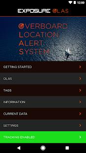 OLAS - Man overboard alarm - náhled