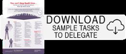 Sample Tasks To Delegate