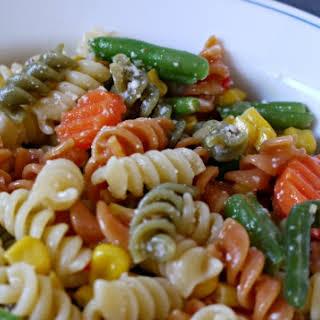 Quick and Easy Pasta Primavera.