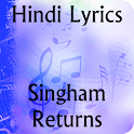 Lyrics of Singham Returns icon