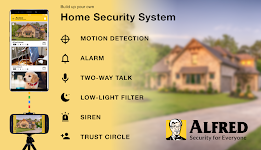 screenshot of Alfred Home Security Camera