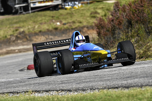 Andre Bezuidenhout took the overall King of the Hill title in his specialist hillclimb Gould GR55. Picture: MOTORPRESS