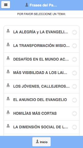 android Frases del Papa Francisco Screenshot 1