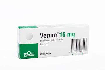 Verum 16Mg Tabletas Caja