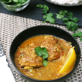 COCONUT CHICKEN with East African Flavors.