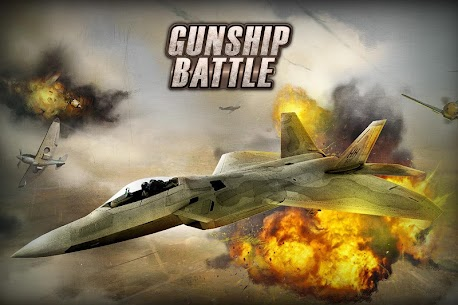 Gunship Battle Helicopter 3D MOD APK + OBB (Unlimited Coins) 8