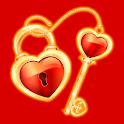 Key Heart icon