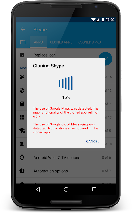 App Cloner- screenshot