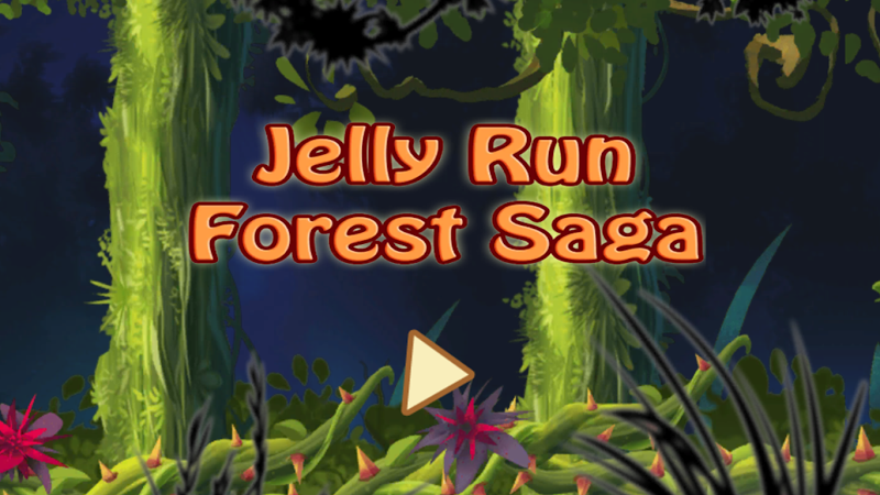 Скриншот Jelly Run Forest