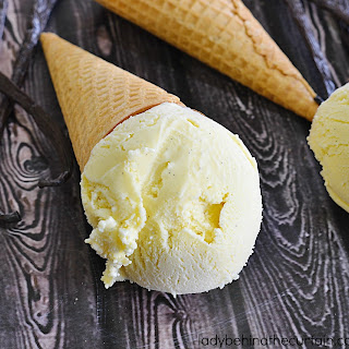 Old Fashioned Vanilla Bean Frozen Custard