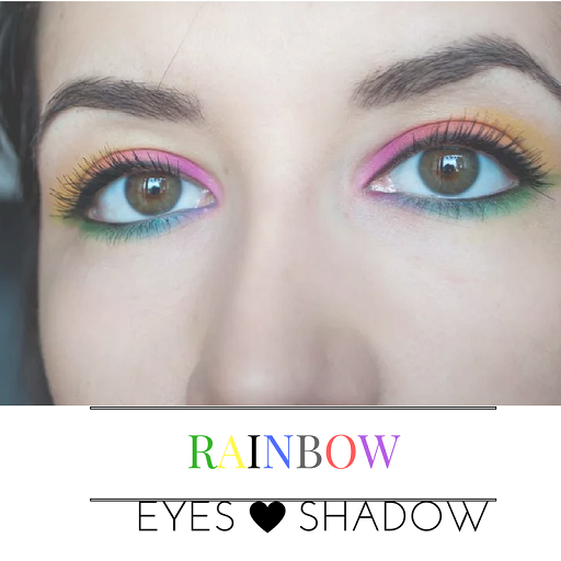 Rainbow eyes shadow 遊戲 App LOGO-硬是要APP